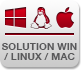 Solution pour Windows - Mac - Linux